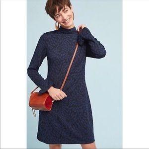 Anthropologie Hutch Textured Tunic Dress